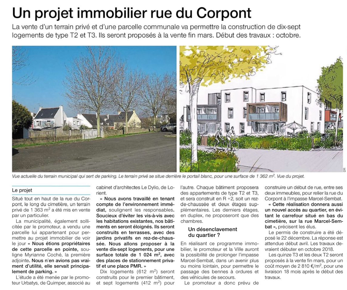Projet immobilier Lanester