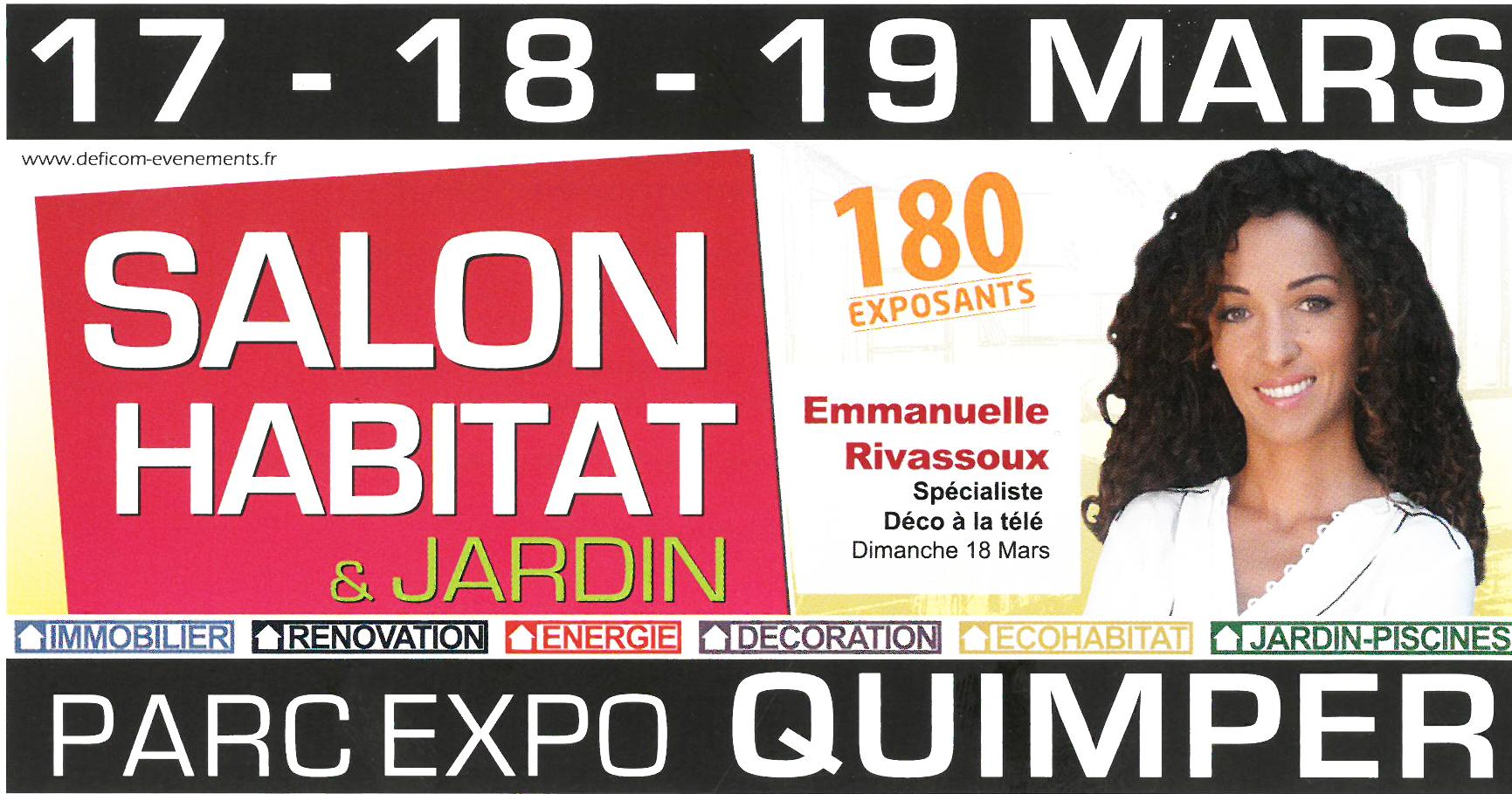 Invitation Salons Habitat Brest et Quimper