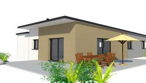 Plan 3D maison Landerneau