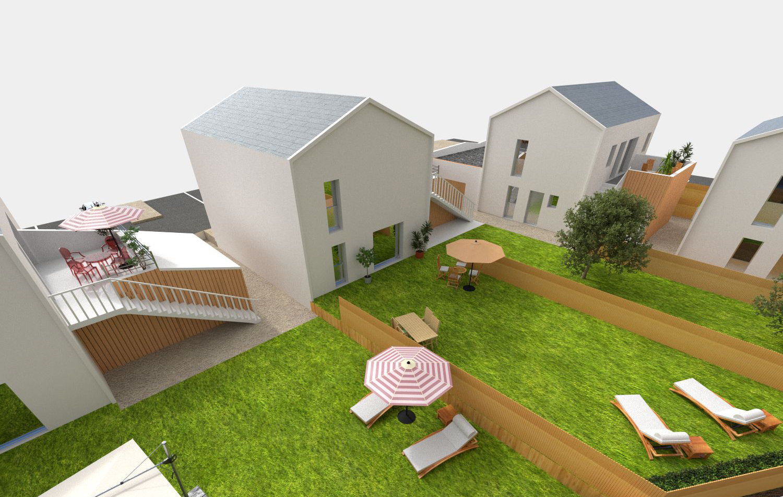 programme r sidence habitat terrasse jardin achat