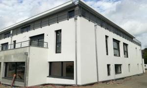 Residence en construction ergue gaberic