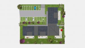 Villa Margaux - Plan masse -  Bénodet
