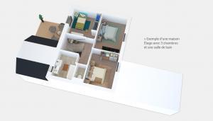 Exemple d'une maison - Étage