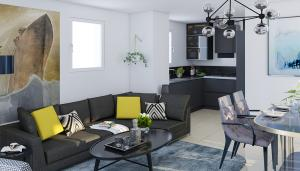 Vue intérieure - Appartement T3