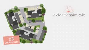 L'Hermitage - Plan masse