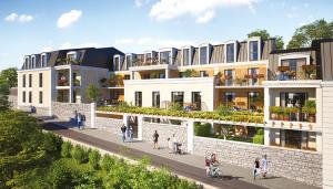 Résidence Chamberlin - Savigny-sur-Orge - Vue rue