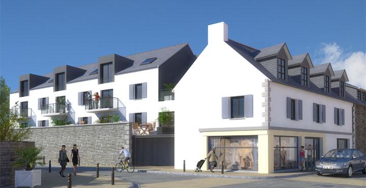 résidence lamartine à Pont l'Abbé dans le Finistère